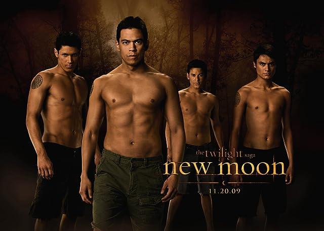 Chaske Spencer, Bronson Pelletier, Alex Meraz, and Kiowa Gordon in The Twilight Saga: New Moon (2009)