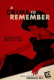 A Crime to Remember Poster