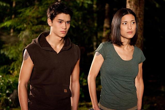 Julia Jones and Booboo Stewart in The Twilight Saga: Breaking Dawn - Part 1 (2011)