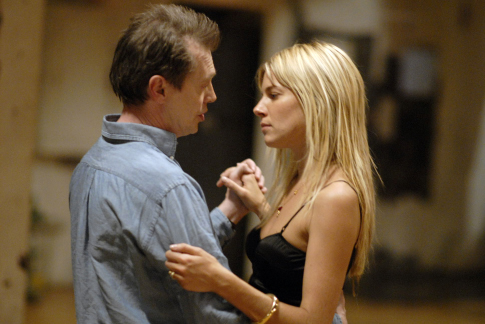 Steve Buscemi and Sienna Miller in Interview (2007)