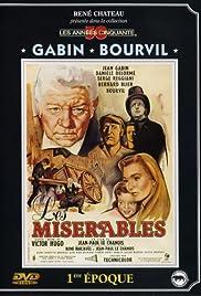 Les misérables(1958) Poster - Movie Forum, Cast, Reviews