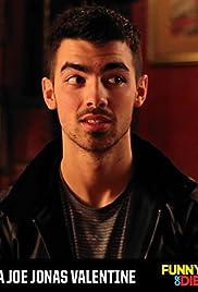 A Joe Jonas Valentine Poster