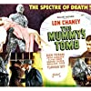 Lon Chaney Jr., Turhan Bey, and Elyse Knox in The Mummy's Tomb (1942)