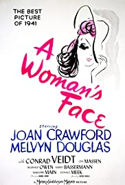 A Woman's Face (1941) Poster - Movie Forum, Cast, Reviews