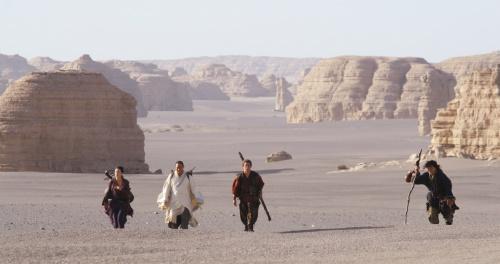 Jackie Chan and Jet Li in The Forbidden Kingdom (2008)