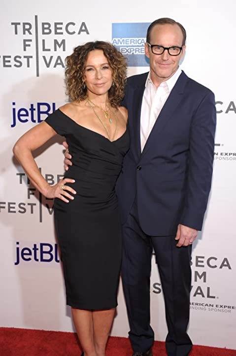 Jennifer Grey and Clark Gregg at Trust Me (2013)