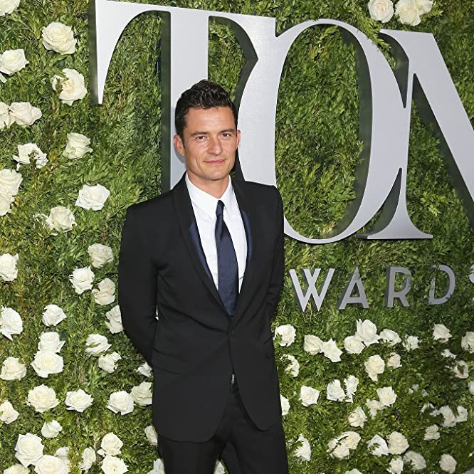 Orlando Bloom at an event for The 71st Annual Tony Awards (2017)