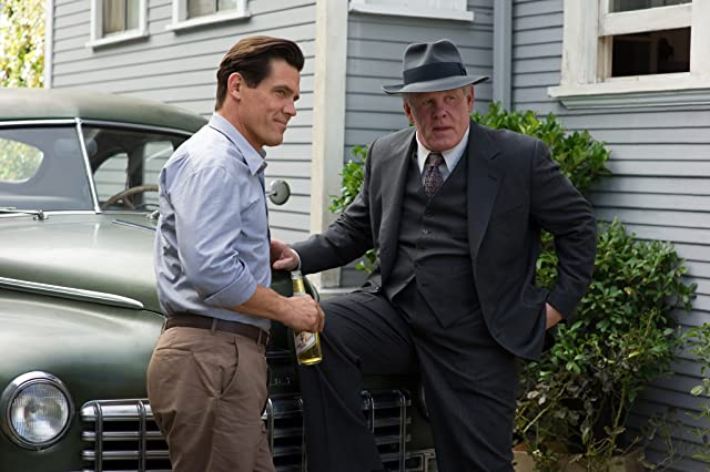 Nick Nolte and Josh Brolin in Gangster Squad (2013)