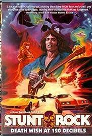 Stunt Rock Poster