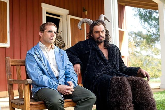 Steve Carell and Jemaine Clement in Dinner for Schmucks (2010)