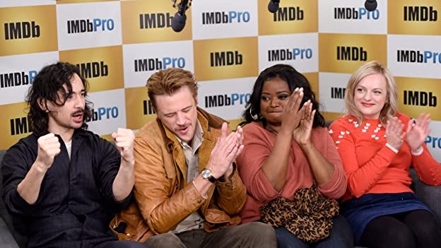 Elisabeth Moss, Octavia Spencer, Boyd Holdbrook, and director Jason Lew speak about their powerful new film, discuss diversity on the set, and also have some fun playing the IMDb Snow Hat game, where we find out what roles they are most recognized for.