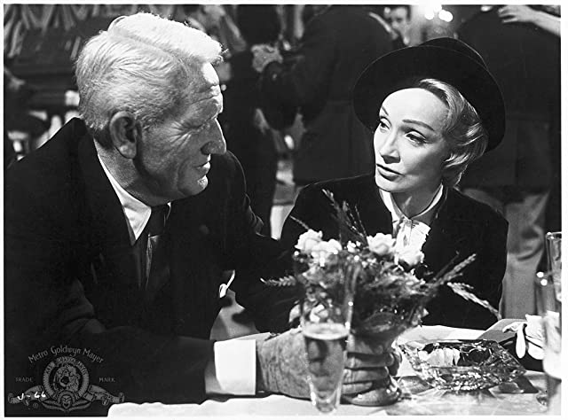 Marlene Dietrich and Spencer Tracy in Judgment at Nuremberg (1961)