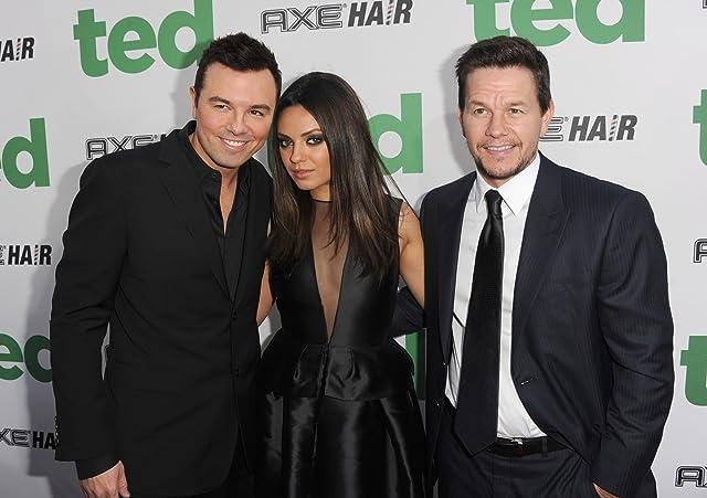 Mark Wahlberg, Mila Kunis, and Seth MacFarlane at Ted (2012)
