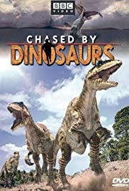 Chased by Dinosaurs Poster