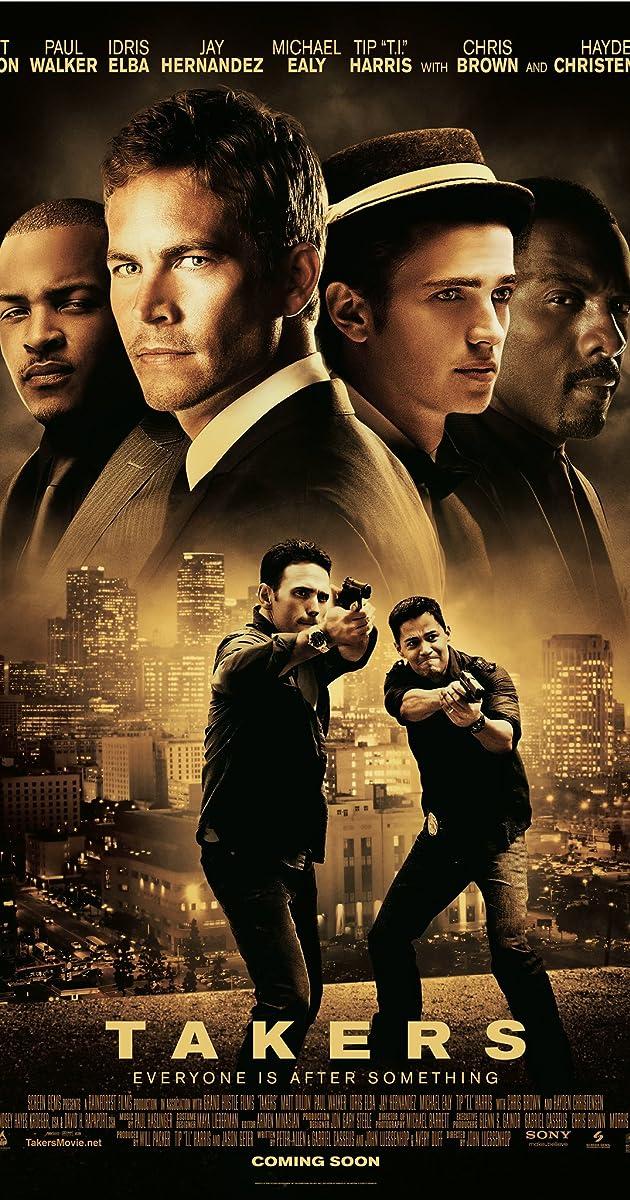 Užpuolikai / Takers (2010) Online