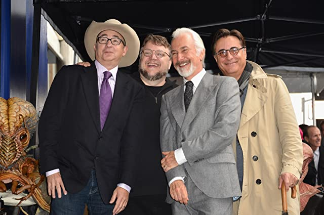 Andy Garcia, Rick Baker, Barry Sonnenfeld, and Guillermo del Toro