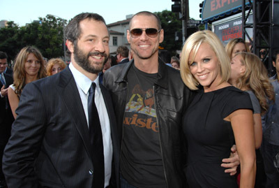 Jim Carrey, Jenny McCarthy, and Judd Apatow at Pineapple Express (2008)