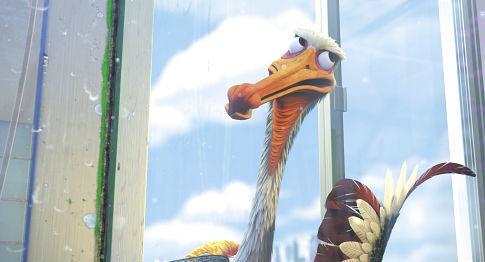 Geoffrey Rush in Finding Nemo (2003)