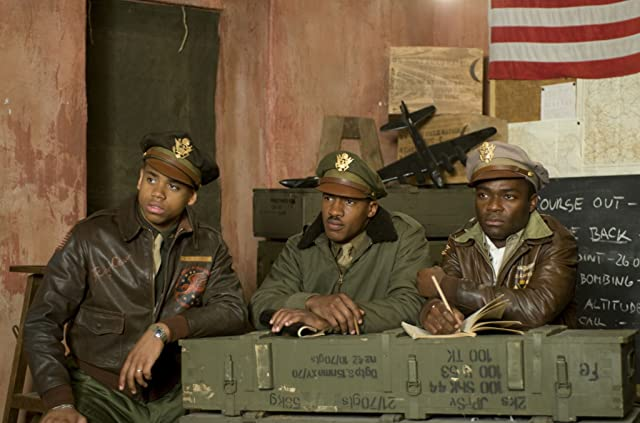 David Oyelowo, Nate Parker, and Tristan Mack Wilds in Red Tails (2012)