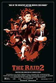 The Raid 2: Berandal film poster