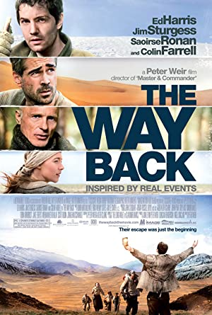 The Way Back - similar movie recommendations