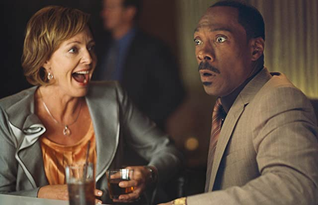 Eddie Murphy and Allison Janney in A Thousand Words (2012)