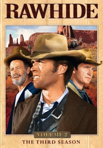 Clint Eastwood, Paul Brinegar, and Eric Fleming in Rawhide (1959)