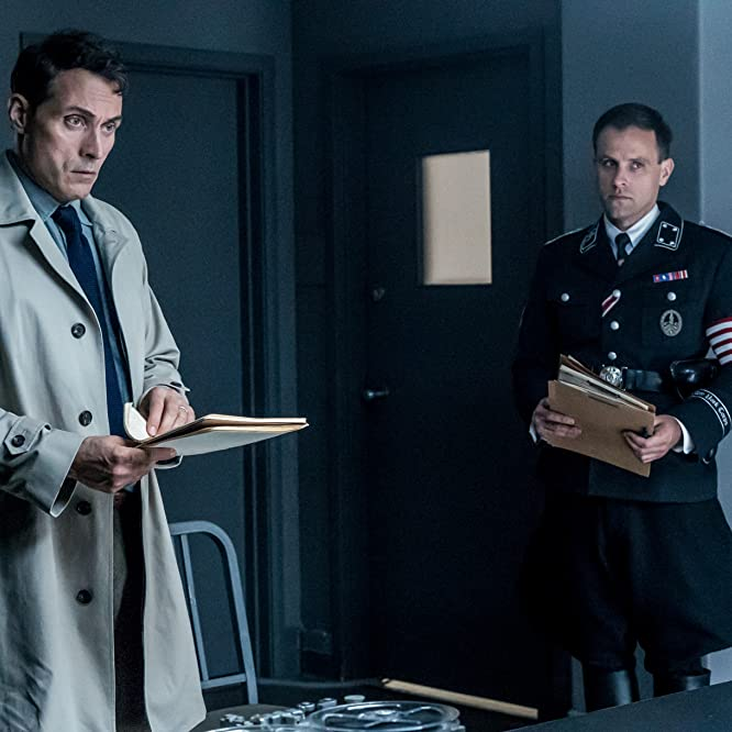 Rufus Sewell and Aaron Blakely in The Man in the High Castle (2015)