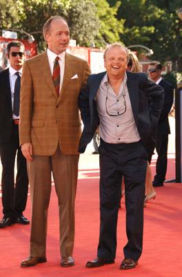 Toby Jones and Douglas McGrath at Infamous (2006)