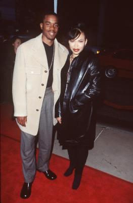 Tisha Campbell-Martin and Duane Martin at Woo (1998)
