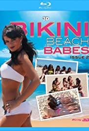 3D Bikini Beach Babes Issue #2 Poster