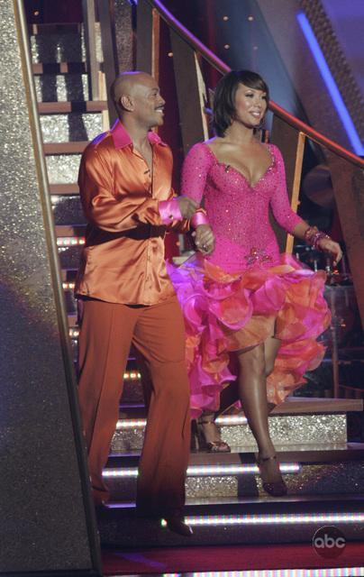 Maurice Greene in Dancing with the Stars (2005)