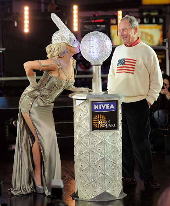 Michael Bloomberg and Lady Gaga