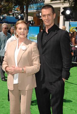 Julie Andrews and Rupert Everett at Shrek the Third (2007)