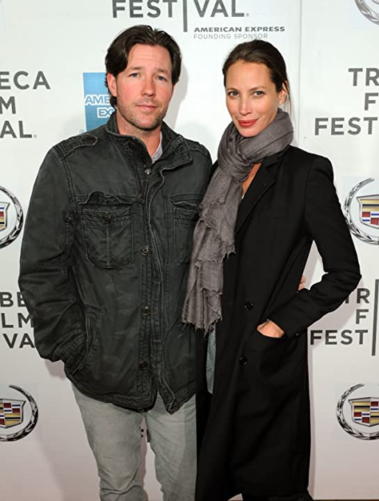 Edward Burns and Christy Turlington at Hysteria (2011)
