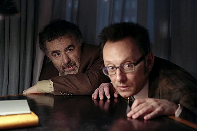 Saul Rubinek and Michael Emerson in Person of Interest (2011)
