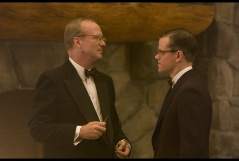 Matt Damon and William Hurt in The Good Shepherd (2006)