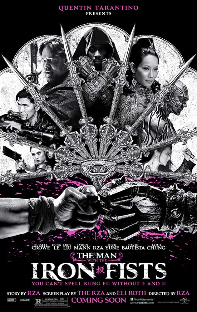 The Man with the Iron Fists 2012 UnRated 720p BRRip Dual Audio