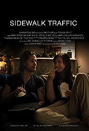 Sidewalk Traffic Poster