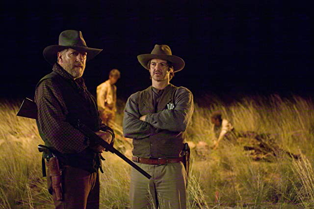 Clancy Brown and William Mapother in The Burrowers (2008)
