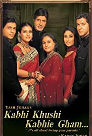 Kabhi Khushi Kabhie Gham... (2001) Poster - Movie Forum, Cast, Reviews
