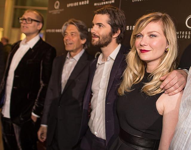 Kirsten Dunst, Victor Alfieri, Juan Solanas, and Jim Sturgess at Upside Down (2012)
