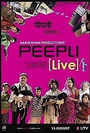 Peepli (Live) Poster