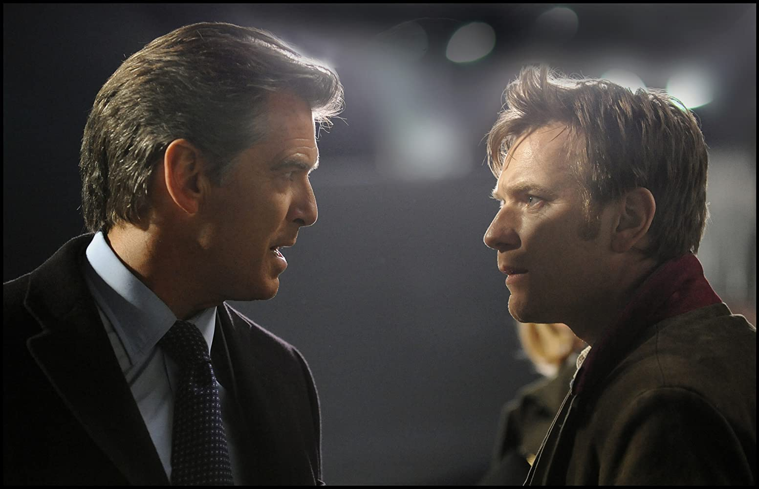 Pierce Brosnan and Ewan McGregor in The Ghost Writer (2010)