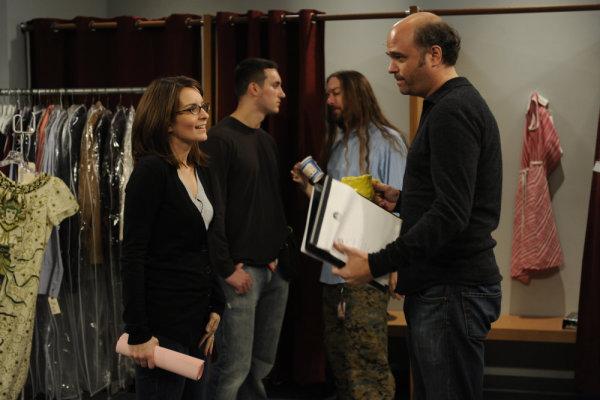 Scott Adsit and Tina Fey in 30 Rock (2006)