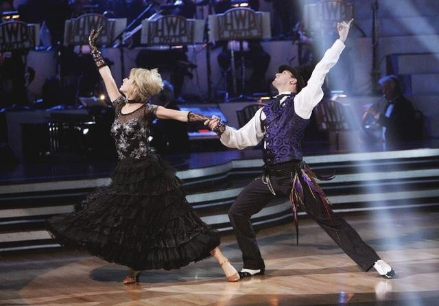 Chelsea Kane and Mark Ballas in Dancing with the Stars (2005)