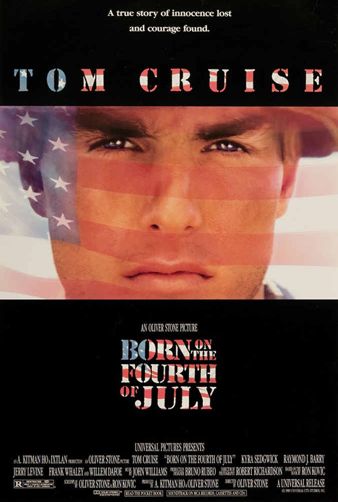 Born on the Fourth of July BluRay