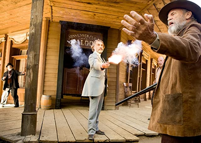 Don Stroud and Christoph Waltz in Django Unchained (2012)