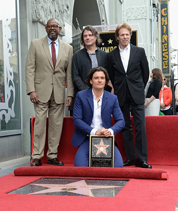 Jerry Bruckheimer, Forest Whitaker, Orlando Bloom, and David Leveaux