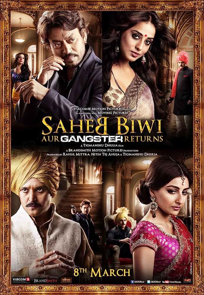 Saheb Biwi Aur Gangster Returns 2013 Hindi 720p ESub BluRay full movie watch online freee download at movies365.ws